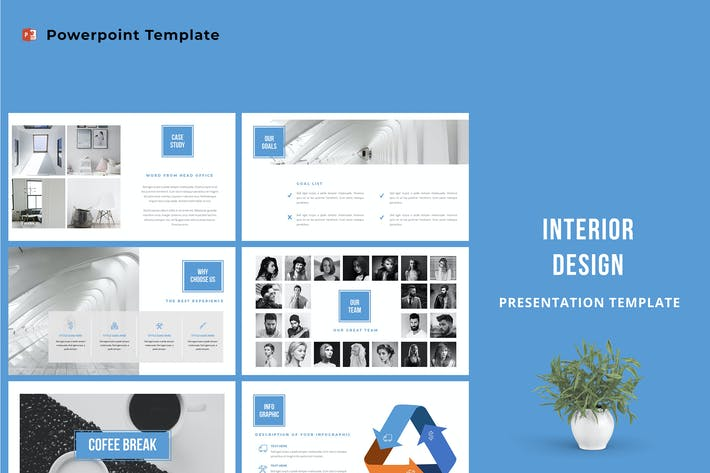 Thumbnail for Interior Design Powerpoint Template