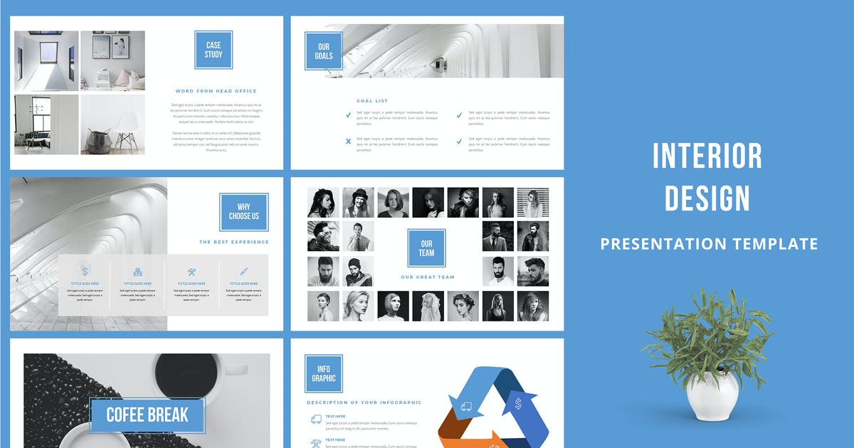 Download Interior Design Powerpoint Template by Incools