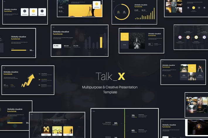 Thumbnail for TalkX Multipurpose Template (Keynote)
