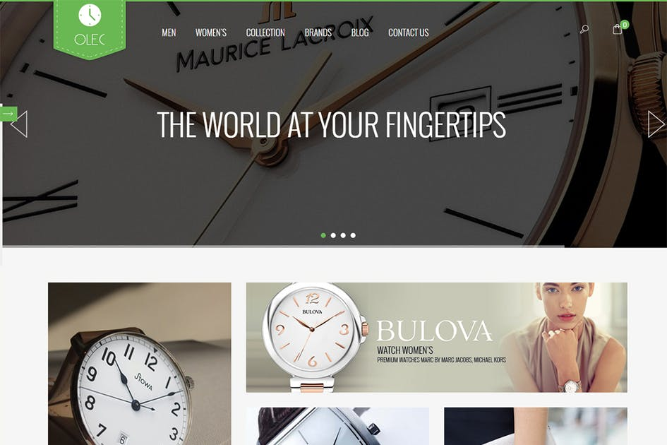 Download Watches Shop - Responsive Magento Theme by 7uptheme