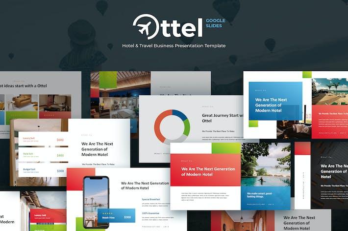Thumbnail for OTTEL - Travel & Hospitality Google Slides
