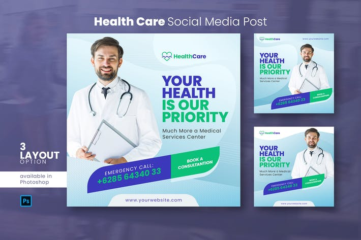 Health Care Social Media Post