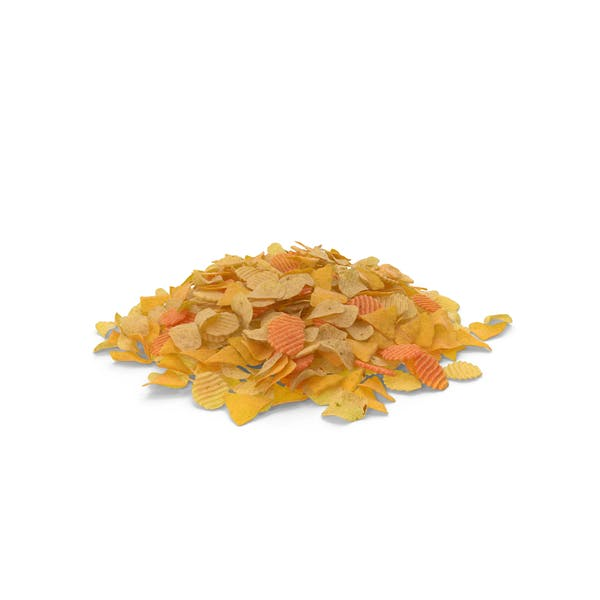 Thumbnail for Large Pile of Mixed Salty Chips Snacks