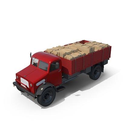 Vintage Truck Loaded