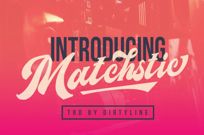Thumbnail for Matchstic - Logotype Font Brush