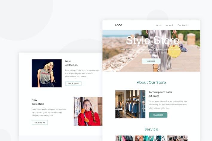 Thumbnail for Женская одежда - Email Newsletter