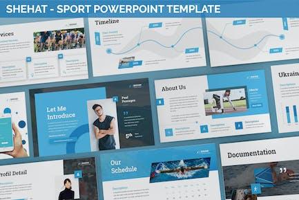 Shehat - Sport Powerpoint Template