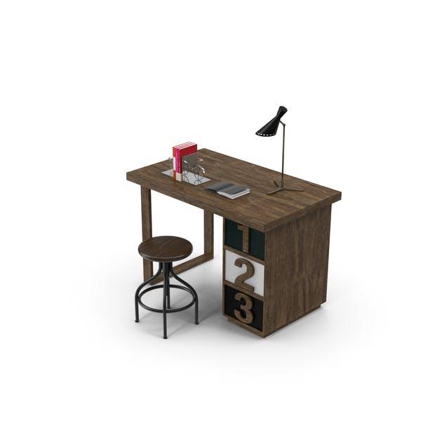 Деревенский стол набор