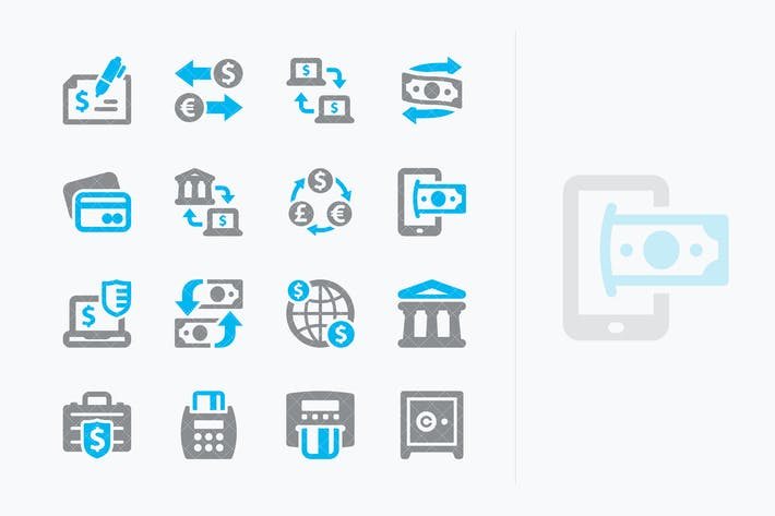 Thumbnail for Personal & Business Finance Icons Set 3 - Sympa
