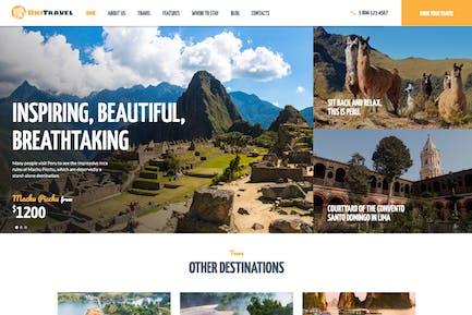 UniTravel | Travel Agency & Tourism Bureau WP