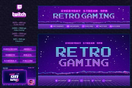 Twitch Retro Gaming