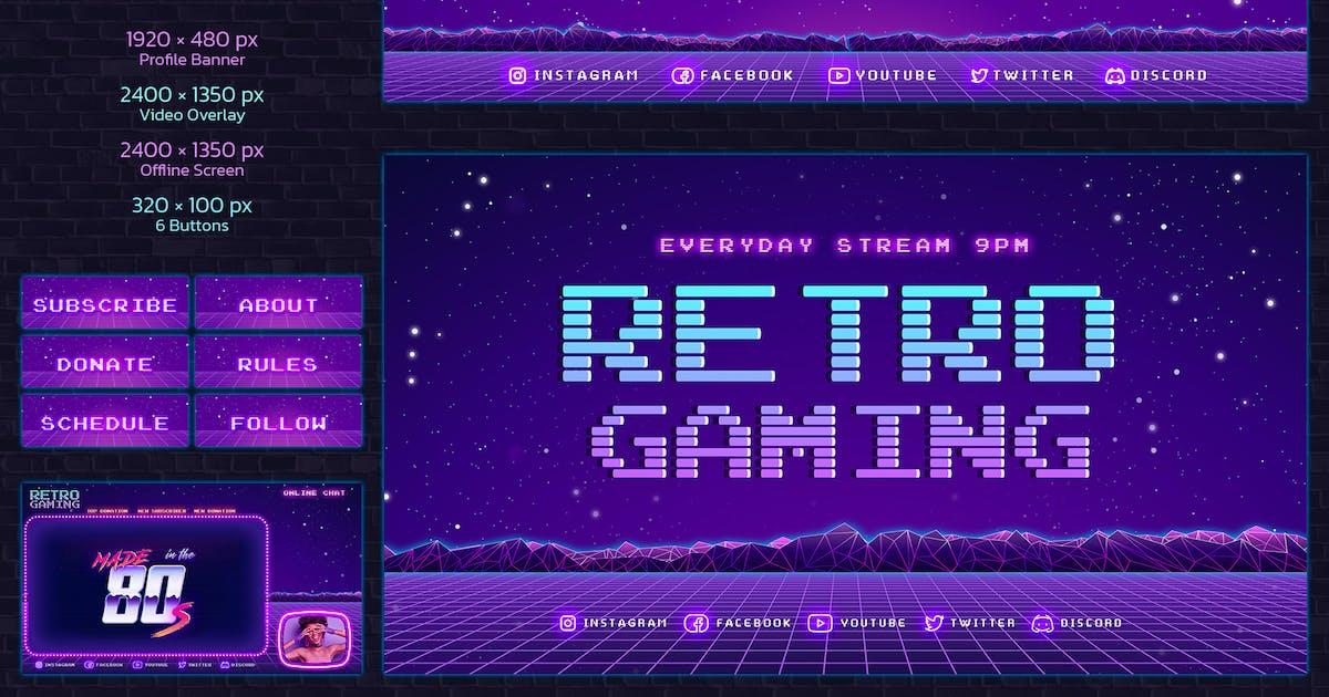 Download Twitch Retro Gaming by Sko4