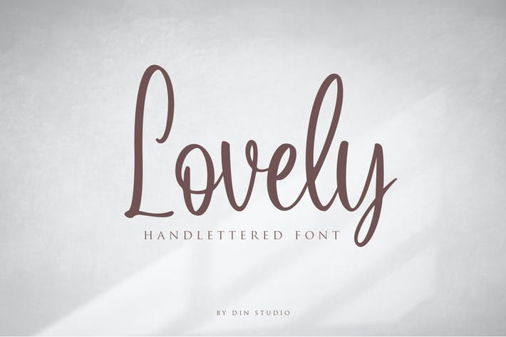 Thumbnail for Lovely Script