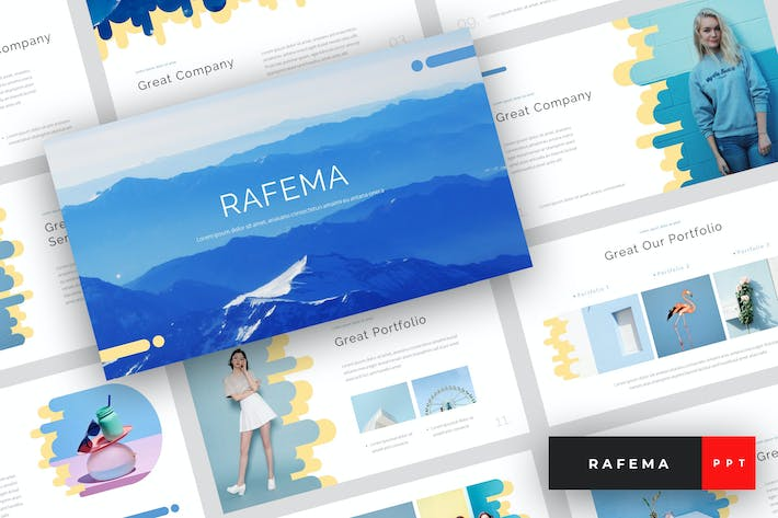 Cover Image For Rafema - Creative PowerPoint Template
