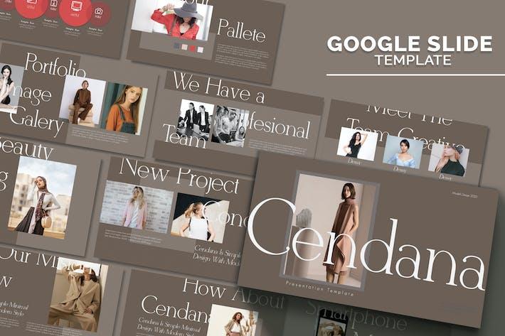 Thumbnail for CENDANA - Google Слайд Шаблон