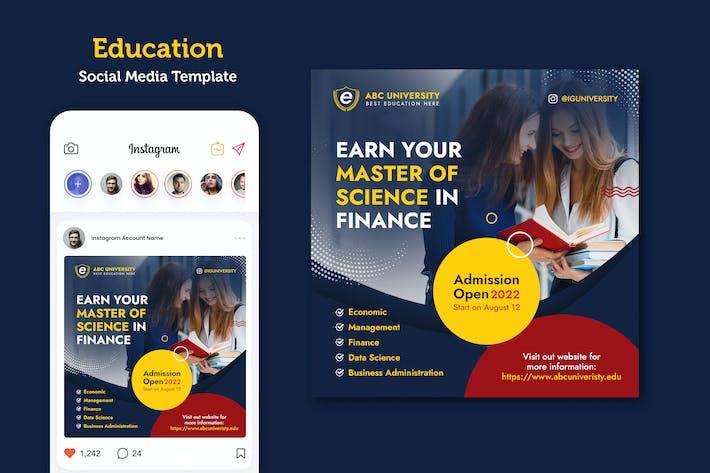 Online-Zulassungsbanner der Universität