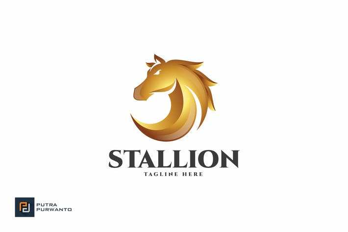 Thumbnail for Stallion / Horse - Logo Template