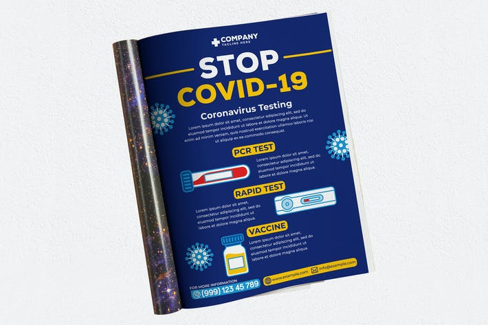 Thumbnail for Stop Covid-19 Ads Magazine