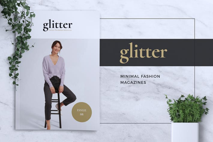 Thumbnail for GLITTER Minimal Fashion Magazine