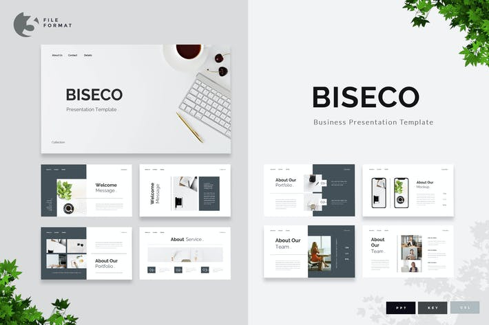Thumbnail for Biseco - Business Presentation Template