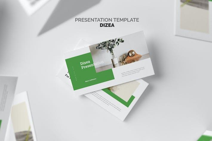 Thumbnail for Дизеа: Зеленый образ жизни Powerpoint