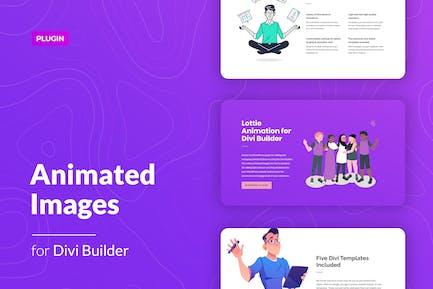 Lottie Animated Images for Divi Builder