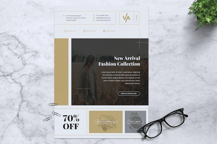 Thumbnail for VA Fashion Store Flyer