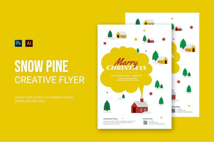 Snow Pine - Flyer