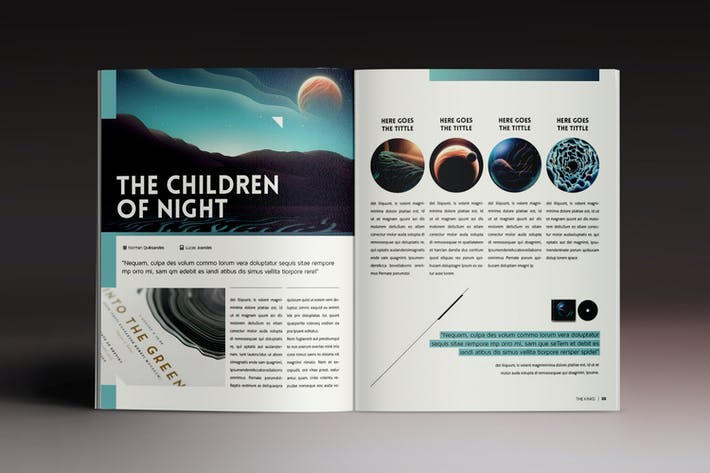 Thumbnail for Design Magazine 4 Indesign Template