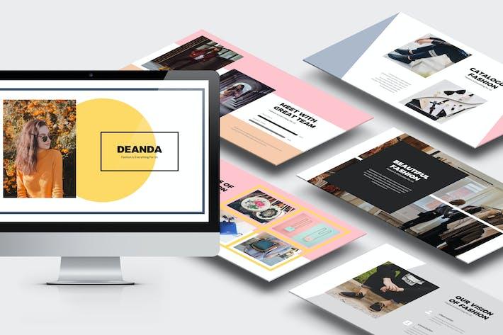 Thumbnail for Deanda : Fashion, Clothing & Lifestyle Keynote