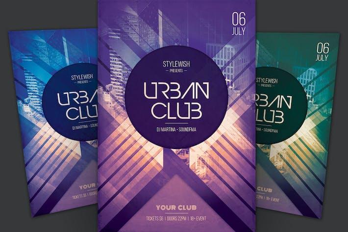 Thumbnail for dépliant Urban Club