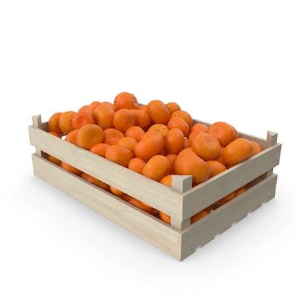 Wooden Mandarin Orange Crate