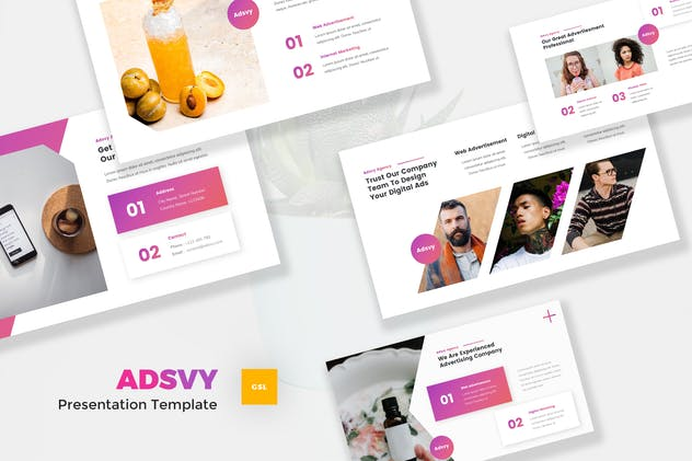 Advertisement Google Slides Template