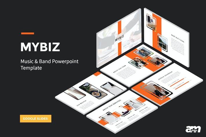 Thumbnail for Mybiz - Business Google Slides Template