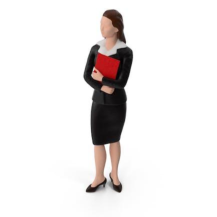 Mujer de Negocios en miniatura