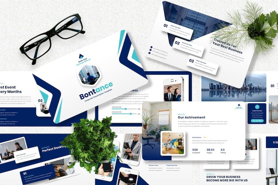 Bontance - Corporate Keynote Template