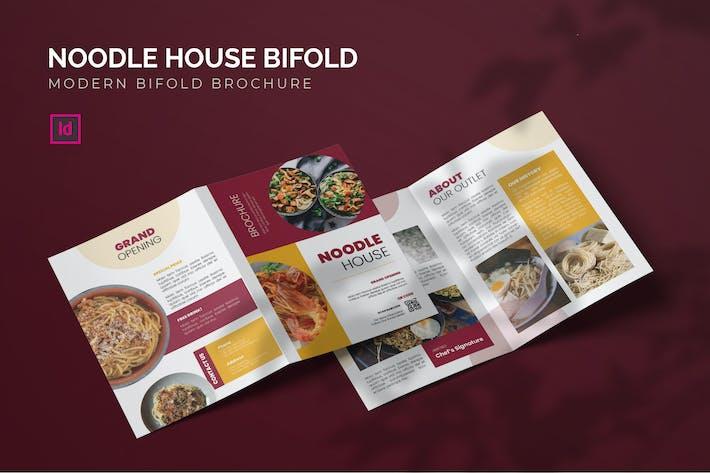 Thumbnail for Noodle House - Bifold Brochure