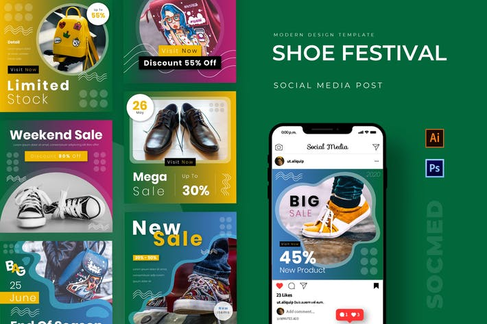 Thumbnail for Shoe Festival Instagram Post
