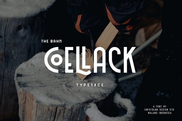Thumbnail for Coellack Typeface