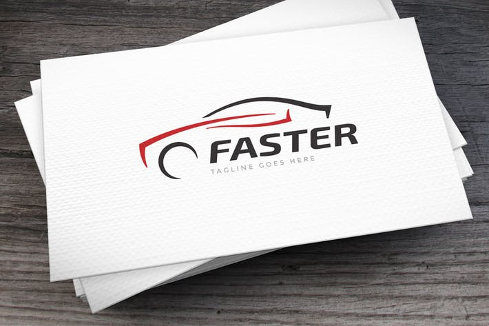 Thumbnail for Faster Logo Template