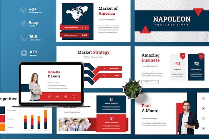 Thumbnail for Napoleon - Business Keynote Presentation