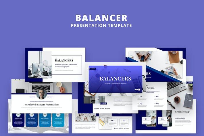 Balancer Powerpoint Presentation Template - VL2