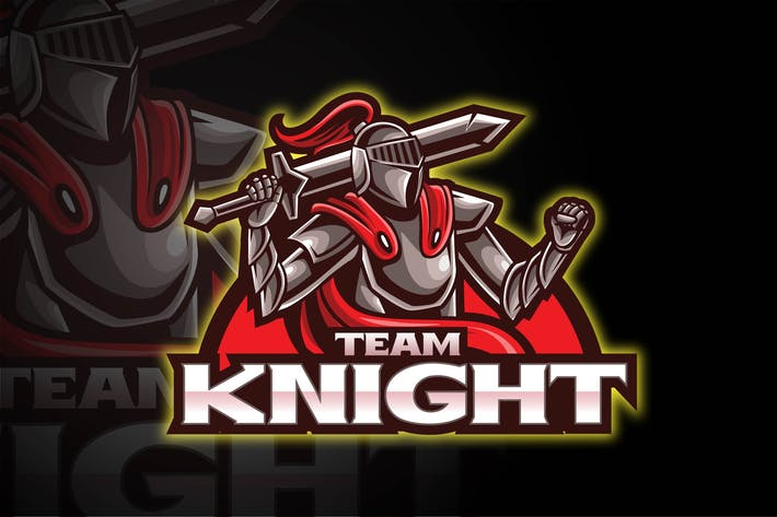 Thumbnail for KNIGHT - ESPORT LOGO