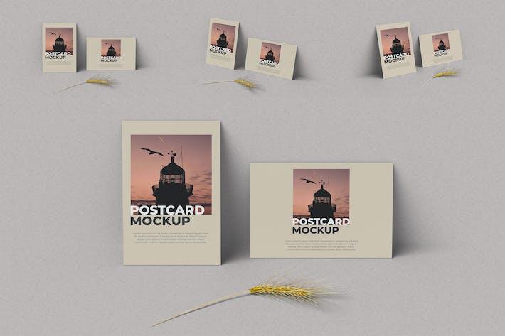 Thumbnail for Postcard Mockup Photoshop Template