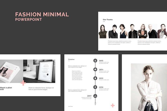Thumbnail for Minimal Fashion PowerPoint