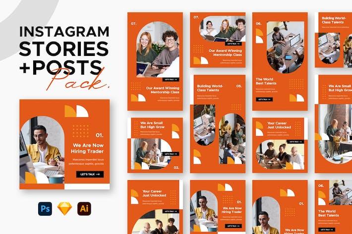 Instagram Posts + Stories