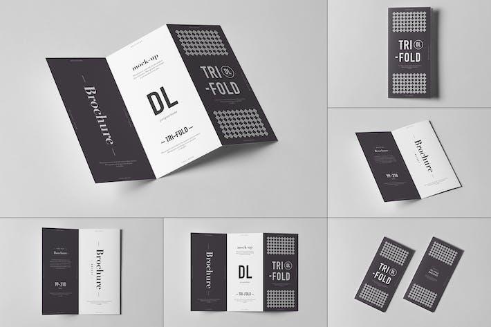 Thumbnail for Tri-Fold DL Brochure Mock-up 3