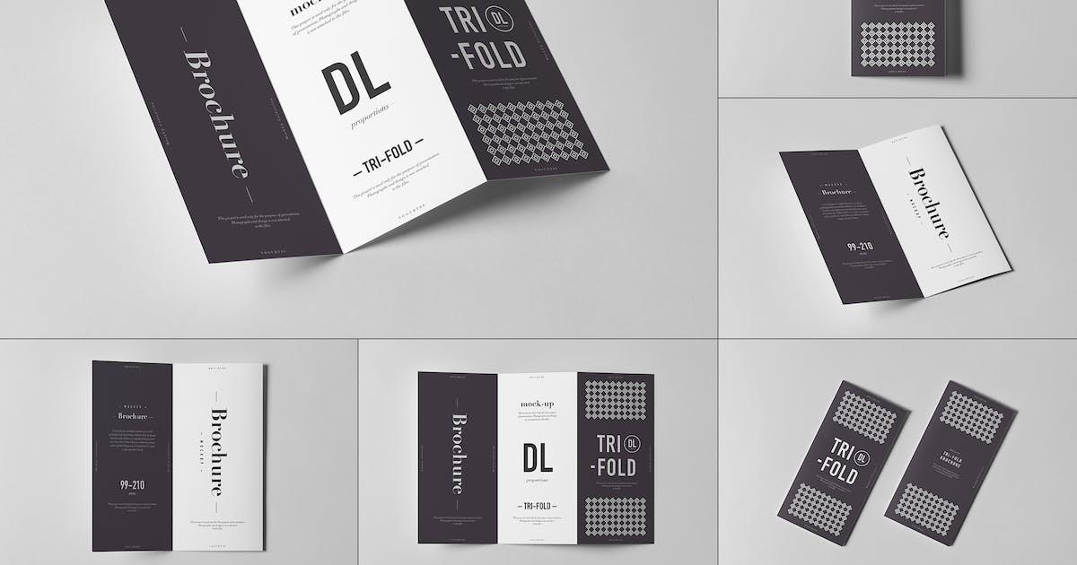 Download Tri-Fold DL Brochure Mock-up 3 by yogurt86