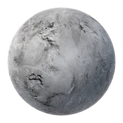 Fictional White Planet