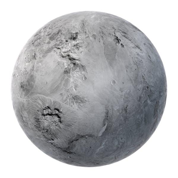 Thumbnail for Fiktionaler White Planet